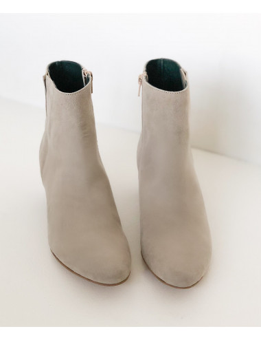 BOTTINES GREASE RED